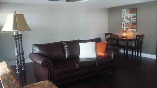 Open floor plan Living Room/Dining area