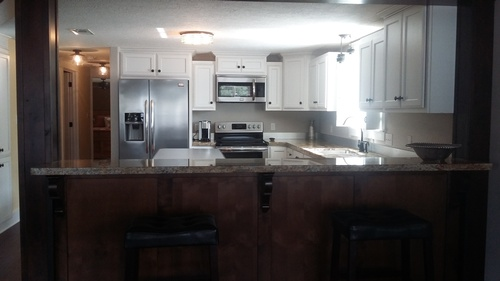 Beautiful kitchen with Stainless Appliances