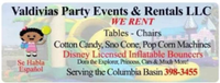 Valdivias Party Events & Rentals