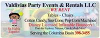 Valdivias Party Events & Rentals