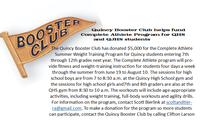 Quincy Booster Club