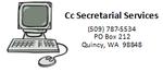 CC Secretarial Service