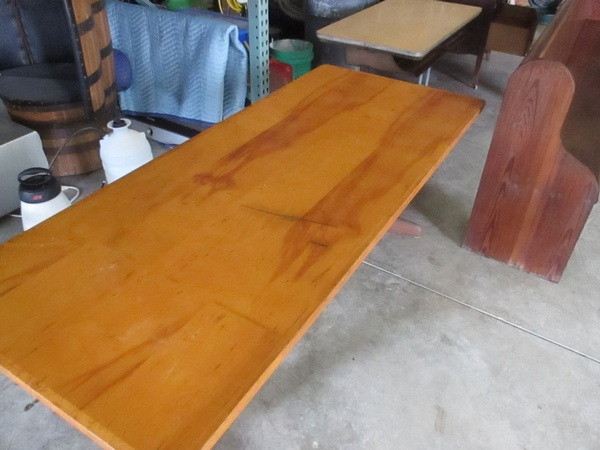 After: Table with Black Marks Removed