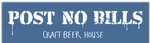 Post No Bills Craft Beer House