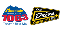 MOUNTAIN 106.3/THE DRIVE 107.9