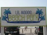 I B Magee Beach Park