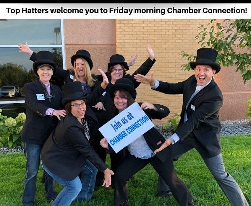 Top Hatters welcome you to Chamber Connection!