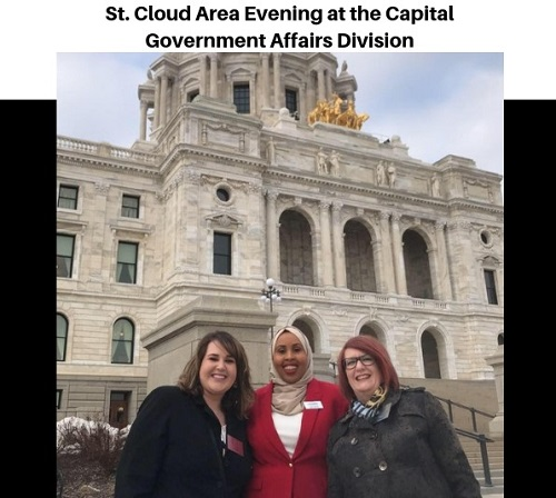 St. Cloud Chamber at Evening at the Capital!