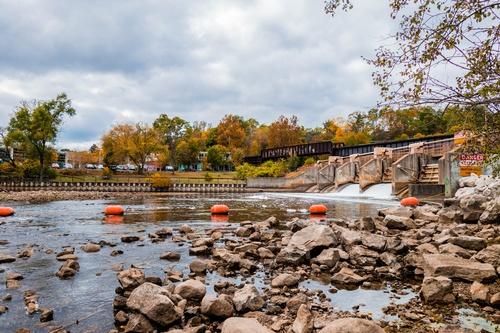 Huron River Dam