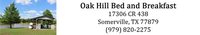 Oak Hill Bed and Breakfast