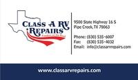Class A RV Repairs LP