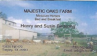 Majestic Oaks Farm B & B