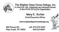 Brighter Days Horse Refuge