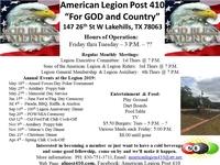 American Legion Post 410