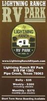 Lightning Ranch RV Park
