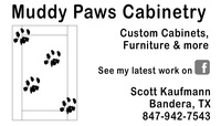 Muddy Paws cabinetry