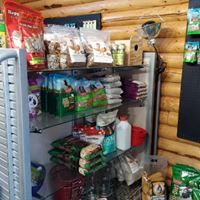 The supply store carries horse tack, feline, equine and canine products.