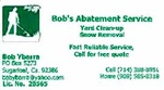 Bob's Weed Abatement