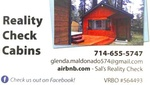 Reality Check Cabins