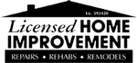 Licensed Home Improvement