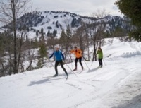 Cross country skiing & snowshoeing in winter