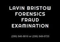 Lavin Bristow Forensics