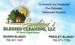 Sunshine's Blessed Cleaning, LLC