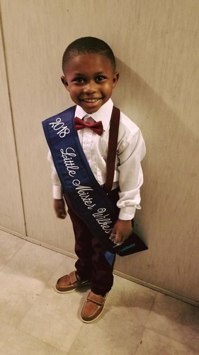 Little Mr. Wilkes County 2018 - Timothy King
