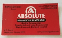 Absolute Renovation & Restoration