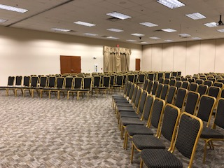 Conference Seating Setup