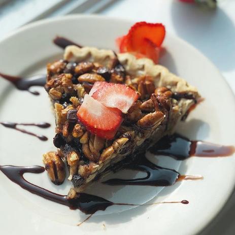 Chocolate Bourbon Pecan Pie - All Day