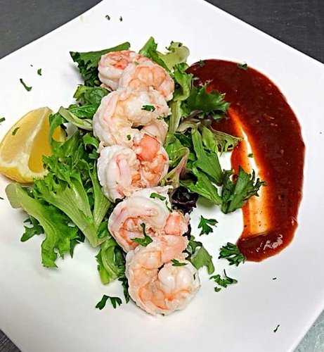Cocktail Shrimp - Dinner Menu