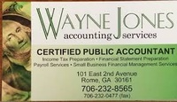 Wayne Jones Accounting Services