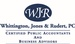 Whittington, Jones & Rudert, CPAs, LLC