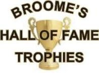 Broome's Hall of Fame Trophies