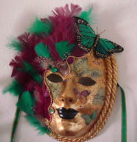 Venetian Mask Making Avatar Mask $125