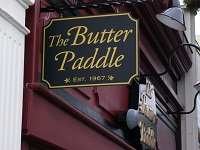 The Butter Paddle Blade Sign