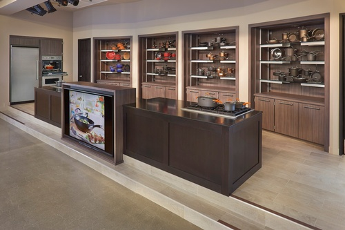 Meyer Corporation - Vallejo Headquarters Kitchen Showroom