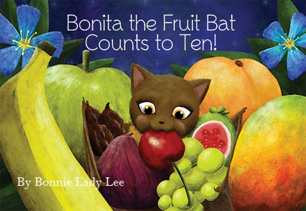 BONITA THE FRUIT BAT COUNTS TO TEN (BOARD BOOK)