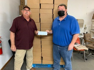 Check presentation from Bourbon County Cars, August 2020