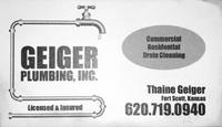 Geiger Plumbing, Inc.