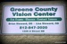 Greene County Vision Centers, INC