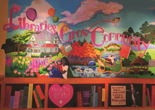 Community Library Mural