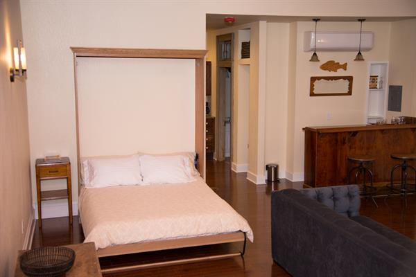 Custom queen murphy bed is the extremely comfortable and tucks away during the day