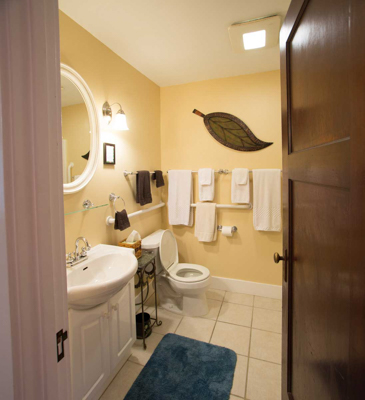 Garden Suite bathroom