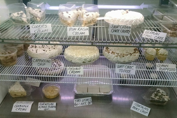 Assorted desserts available...at least 1 GF option