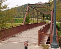 Coffee Street Walking Bridge