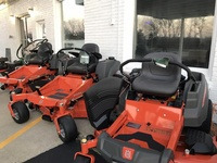 They offer a variety of mowers!