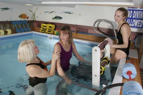 Aquatic Therapy at F.F. Thompson Hospital