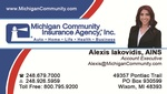 Michigan Community Insurance Agency